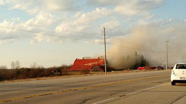 Officials: Cause of fire that destroyed Dodgeville restaurant 'undetermined'
