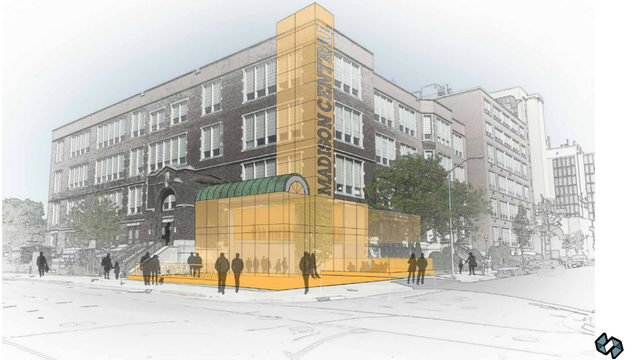 Renderings show redevelopment plans for downtown Madison College site