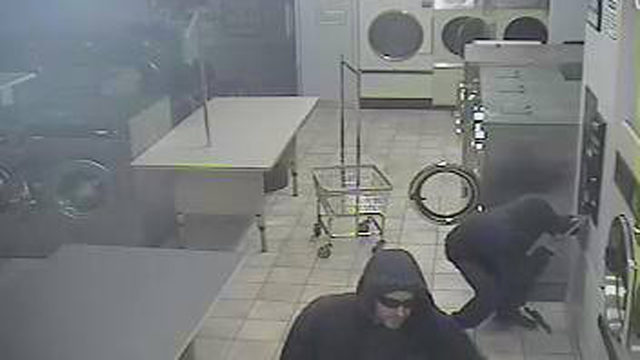 2 burglars, getaway driver charged in laundromat change heist, police say