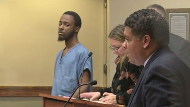 Complaint: Blood in stabbing victim's kitchen matches accused killer's DNA