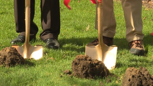 Verona church celebrates Easter with renovation groundbreaking