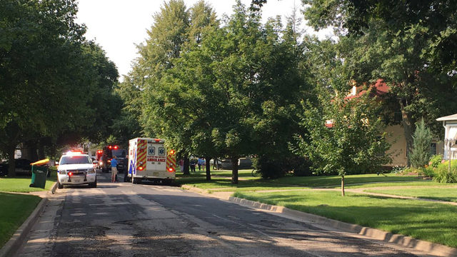 Water heater explodes; injured man flown to hospital from Clinton home