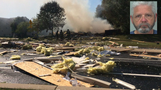Cleanup starts after house explosion, suspected homicide in west side home