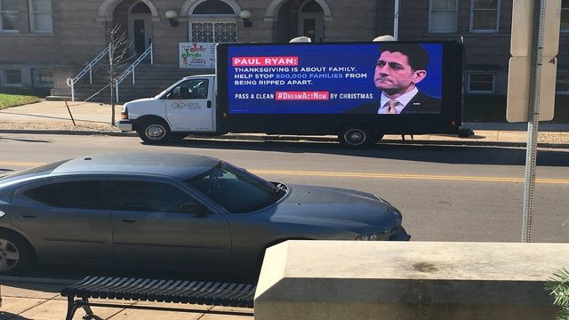 Protesters rally to urge Paul Ryan to pass Dream Act