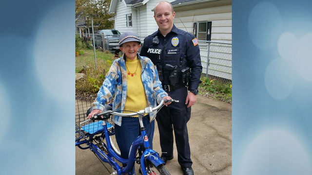 Anonymous citizen donates new 3-wheel bike to theft victim, police say