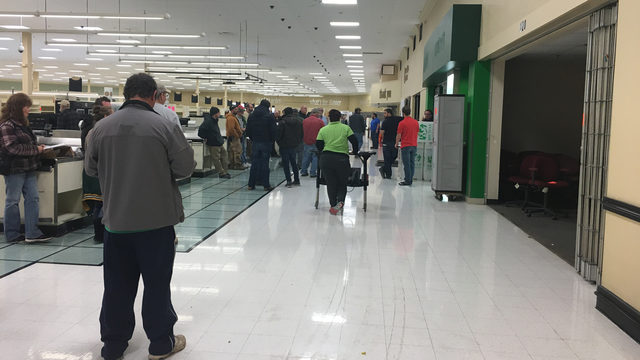 Items inside former Janesville Pick 'n Save auctioned off