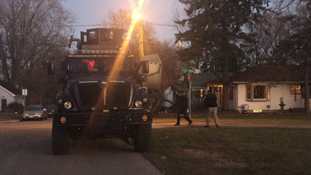 Man who threatened neighbor with gun surrenders peacefully after 7-hour standoff