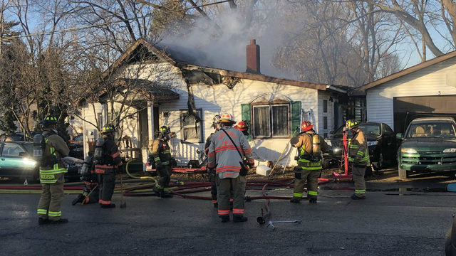 Officials: Winds lead to difficulty putting out Town of Madison house fire