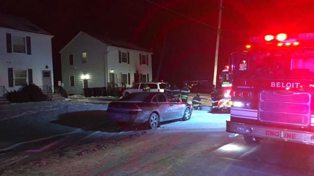 Beloit fire displaces four Sunday morning, officials say