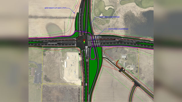 County Road M project will allow westbound PD drivers to avoid signal