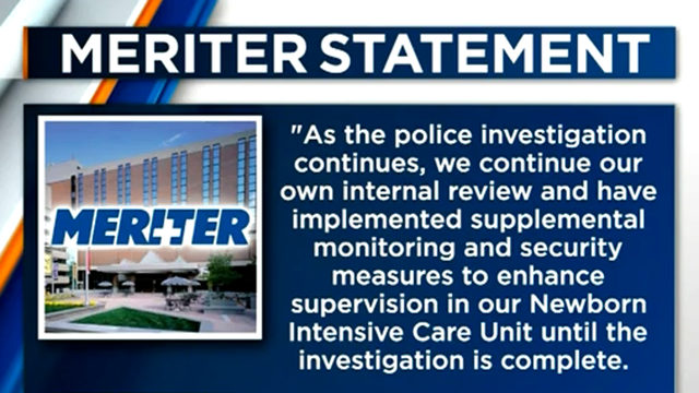 One employee suspended from Meriter as police investigate injured baby incident