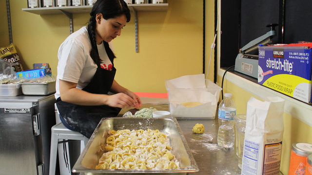 Popping in on a Big Mouth Pasta pop-up