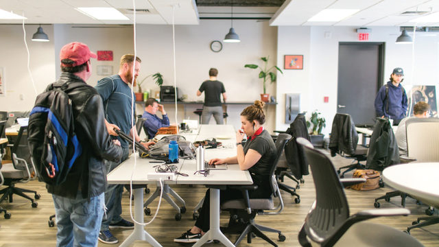 A key to Madison's co-working spaces
