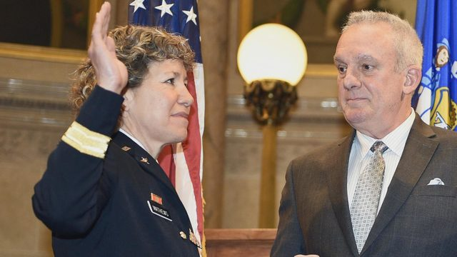Woman makes history in Wisconsin Army National Guard