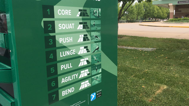 New outdoor fitness court opens in Janesville