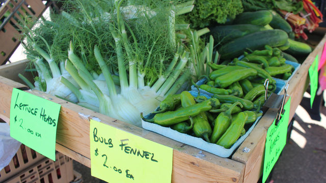 Five things I can't leave the farmers' market without