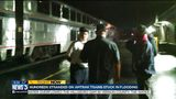 Amtrak trains back running after 400 passengers stopped on rails overnight due to flooding
