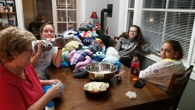 Made with heart: Baraboo family makes stuffed animals for community children