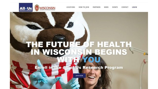UW-Madison joins research fight to help 'All of Us'
