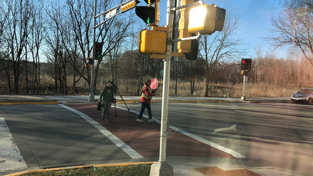 Madison crossing guard understands power of wishing commuters 'good morning'