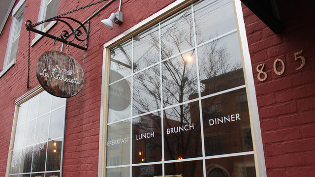 Meatless Madison: French Green Toast at La Kitchenette