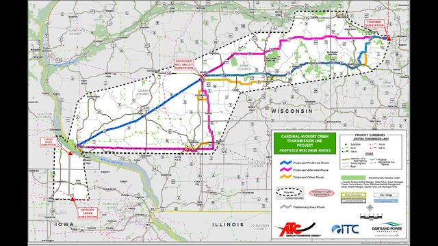 'Once it's built, there's no going back': Public gives input on ATC transmission line before PSC