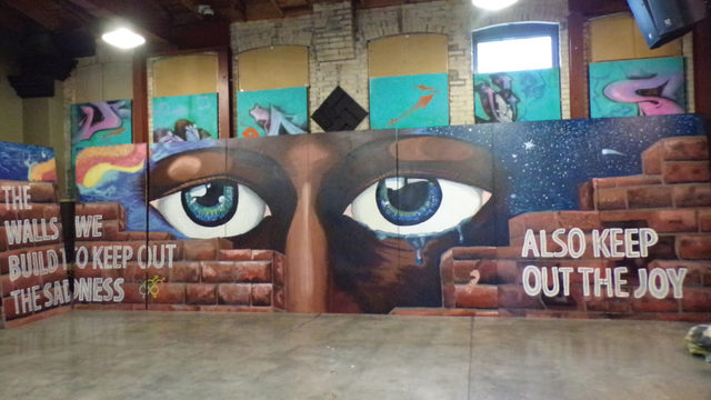 Dane Arts Mural Arts brings artists and buildings together