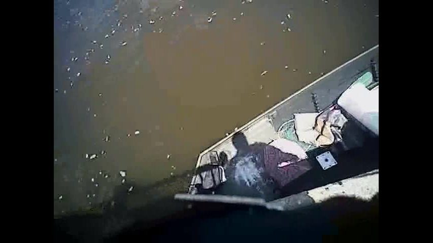 Bodycam video shows moment 8-year-old boy rescued from Janesville waters