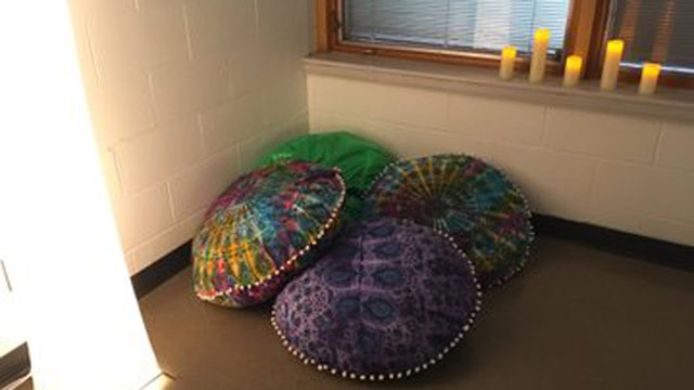 Local school supports students' mental health with new 'mindfulness room'