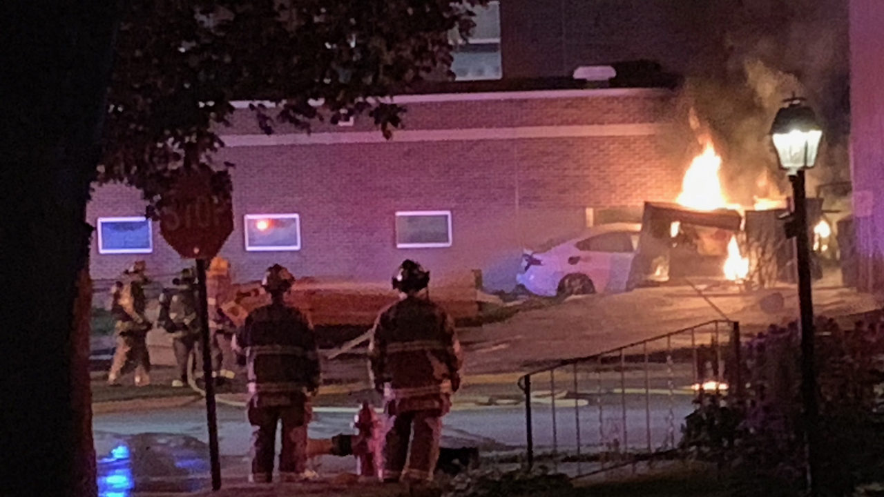 Suspect in fiery crash at Beaver Dam school faces felony charge