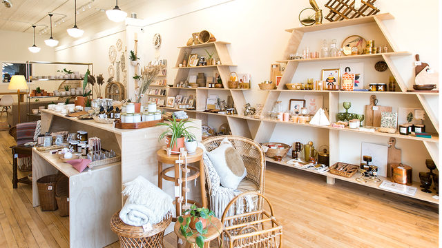 A local jewelry maker with an eye for charming items opens a chic shop in Stoughton