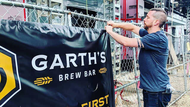 Garth's Brew Bar, set to open this fall, concentrates on expertly curated, craft beers