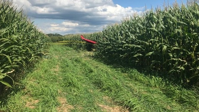 Pilot injured in plane crash claims mechanical problems, according to Green County sheriff