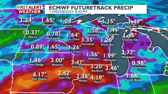 Multiple weather threats could bring heavy rain, localized flooding