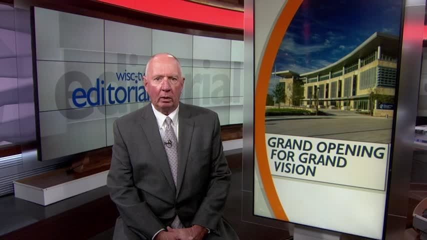 Editorial: Grand opening for grand vision