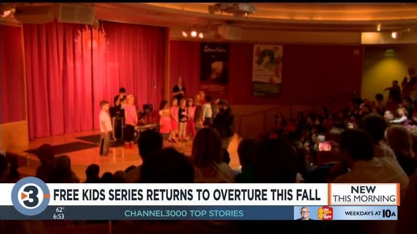 Mark your calendars! Popular, free kids' series returns to Overture this October