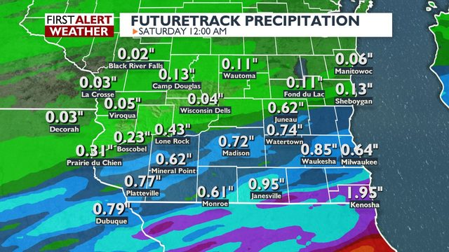Periodic changes for heavy rain and possible flooding over the next week