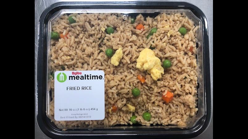 Hy-Vee recalls several premade Mealtime Asian Entrees for undeclared allergen