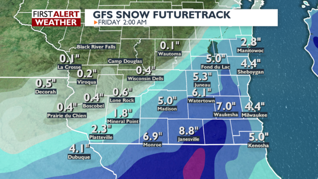 Snowfall records fall; more in jeopardy as another round of accumulating snow possible this week