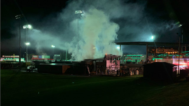 MFD: Fire at Mallards stadium being investigated as 'potentially suspicious'