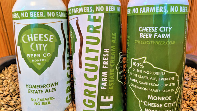Cheese City Beer Co. in Monroe grows its own brew