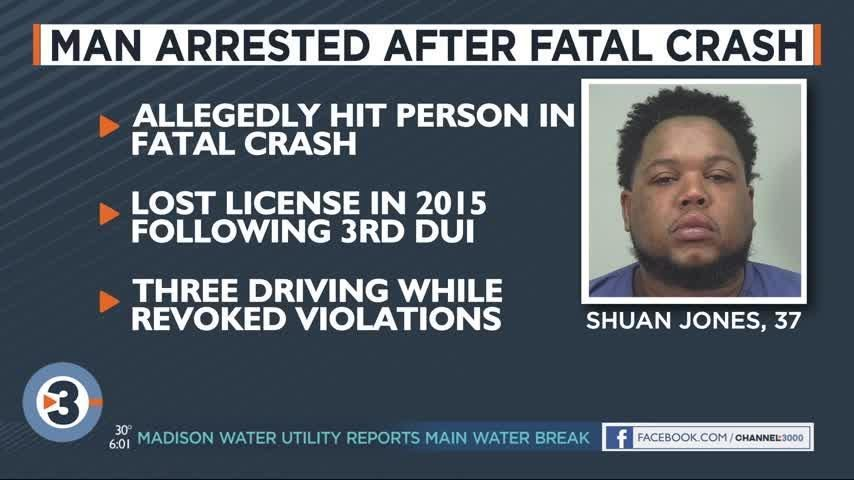 One person killed, arrest made following car vs. pedestrian crash on Highway 12/18
