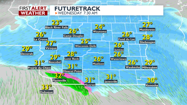 Snow to impact Wednesday morning commute, January cold to follow -Chris