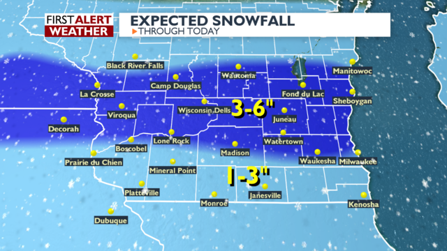 More snow to affect morning commutes in southern Wisconsin