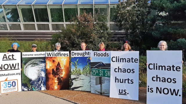 Warning signs of climate change
