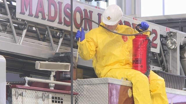 Madison Fire Department switches to PFAS-free firefighting foam