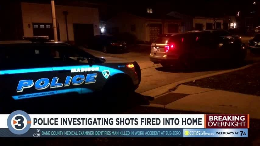 More than a dozen gun shots fired at home on Madison's south side overnight