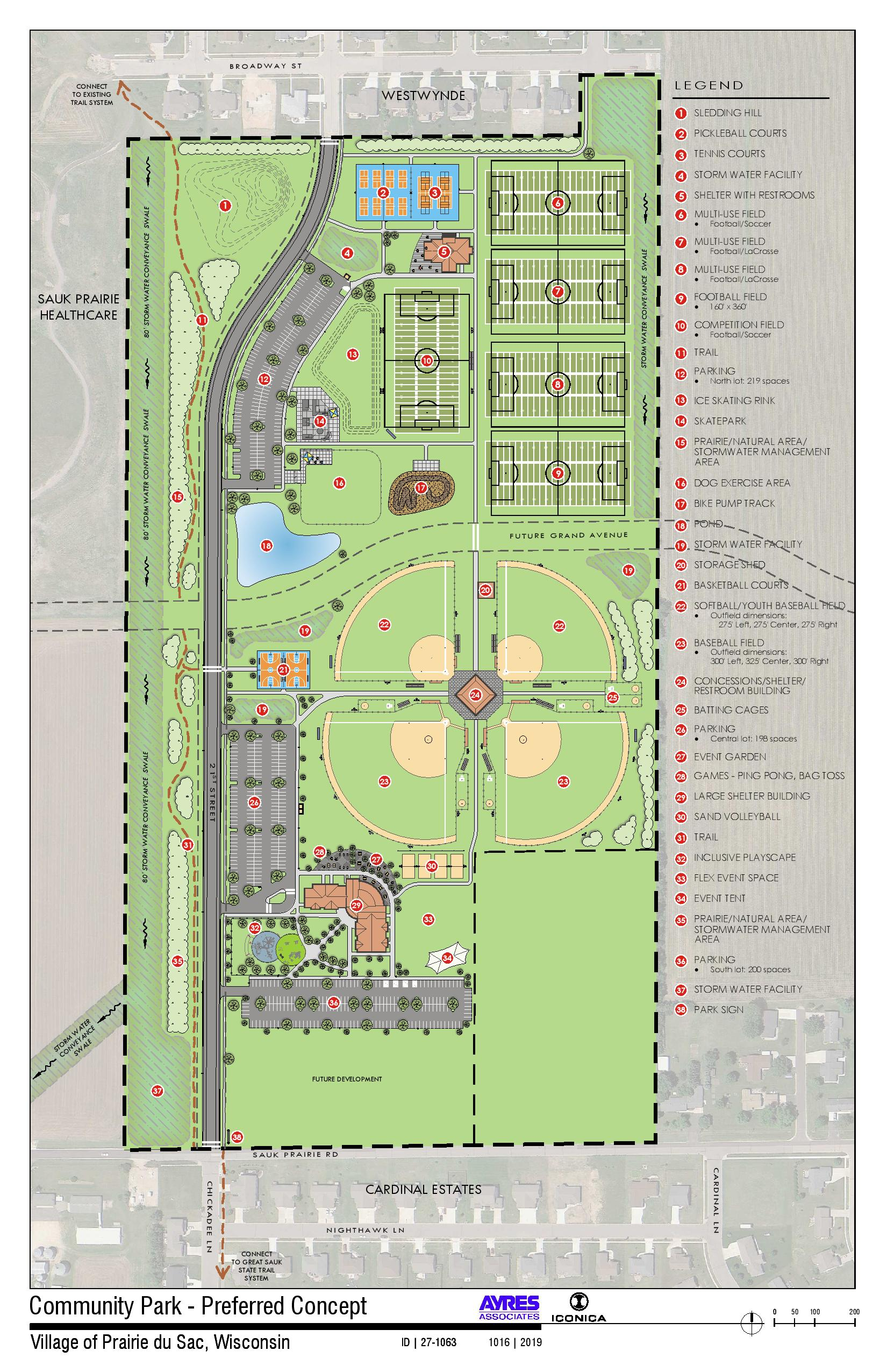 A full look at the Culver Community Park development plans