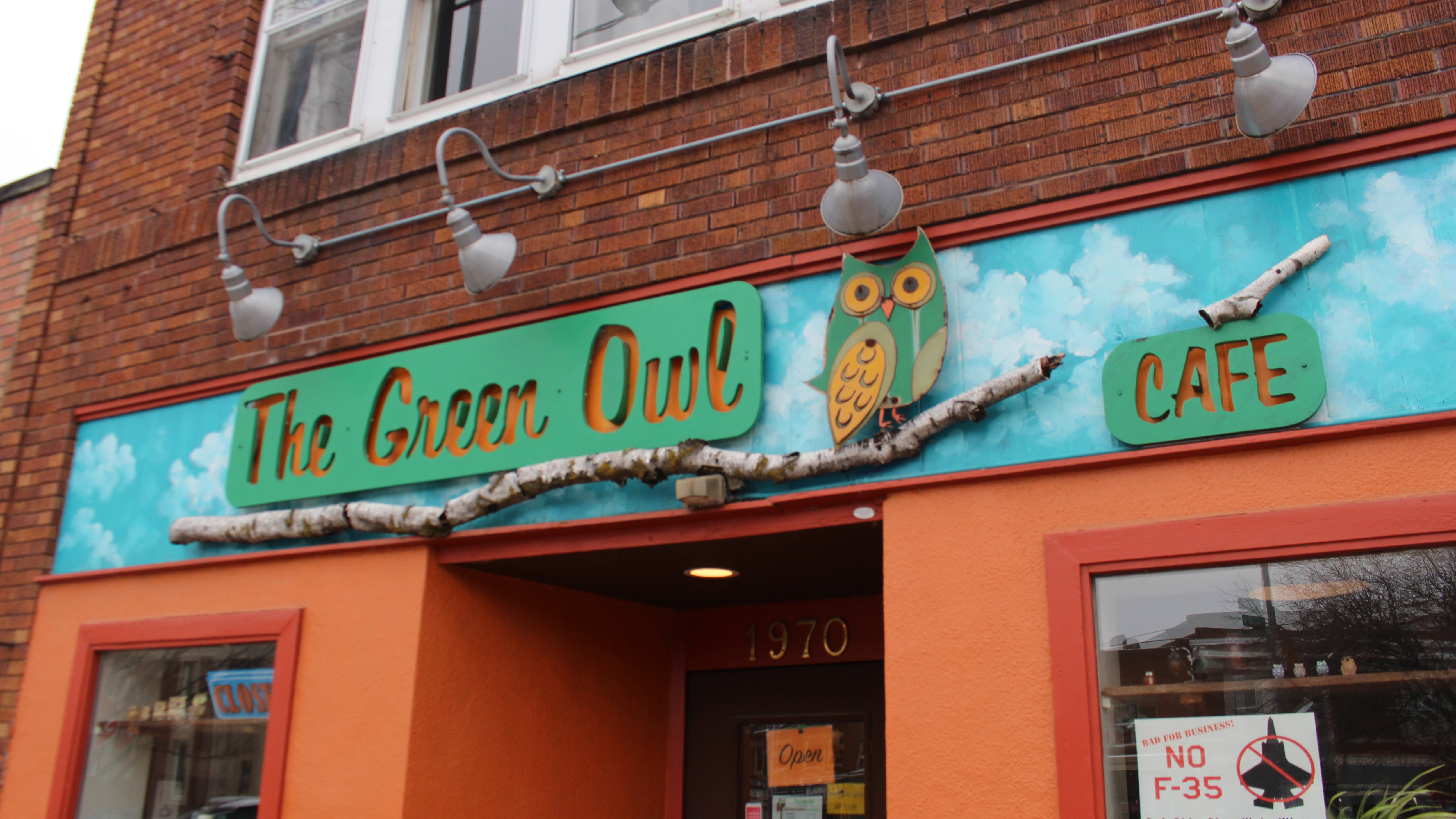 Exterior of The Green Owl