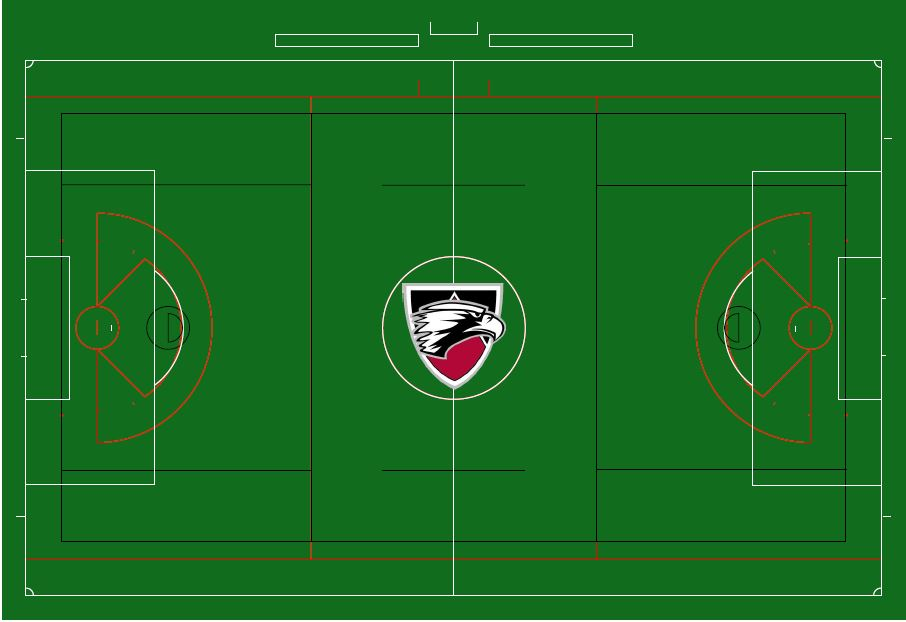 A rendering of Edgwood College's new field at Reddan Field